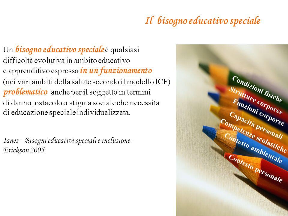 Il bisogno educativo speciale