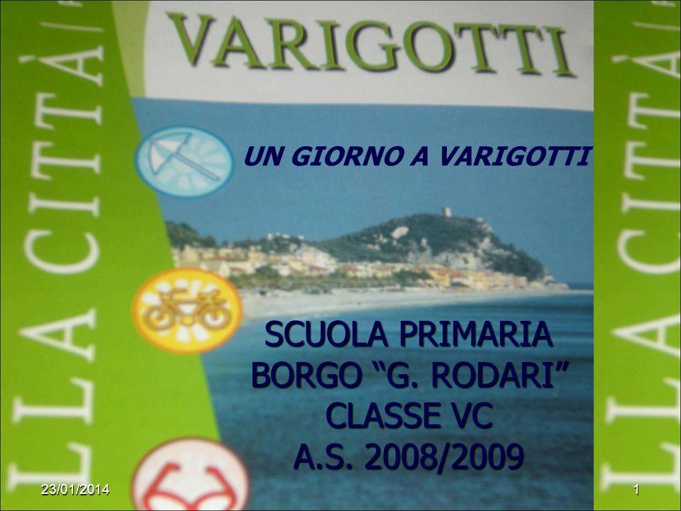 SCUOLA PRIMARIA BORGO G. RODARI CLASSE VC A.S. 2008/2009