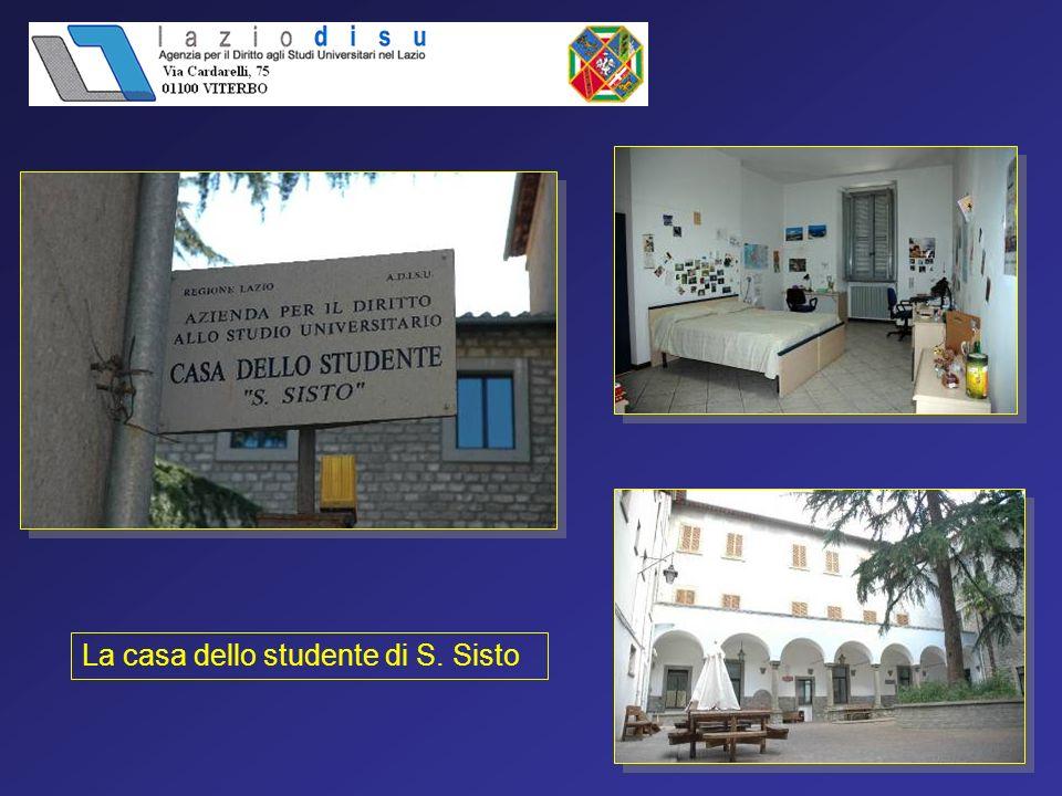 La casa dello studente di S. Sisto
