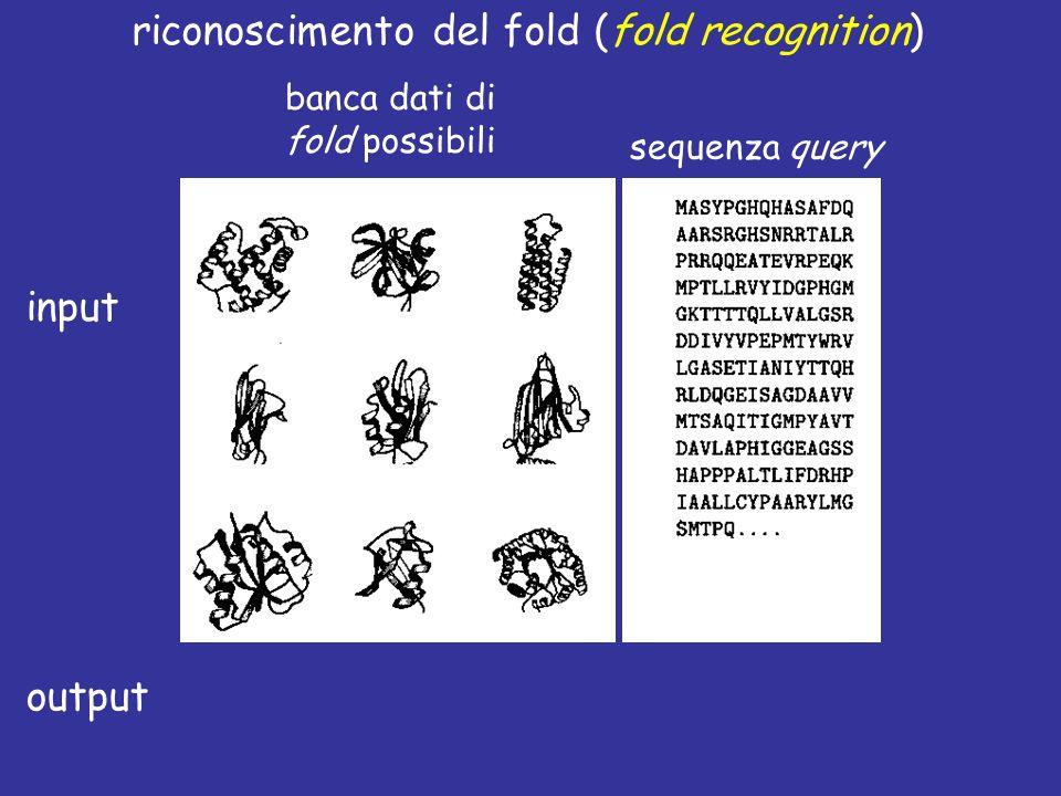 riconoscimento del fold (fold recognition)