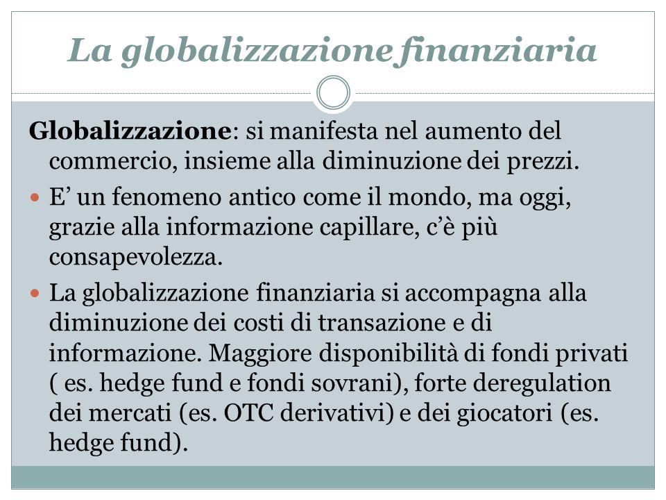 La globalizzazione finanziaria