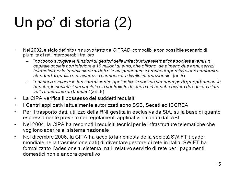 Un po' di storia (2)