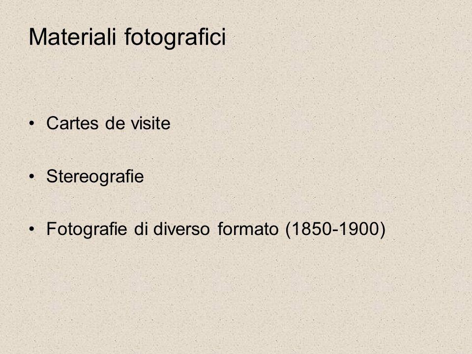 Materiali fotografici