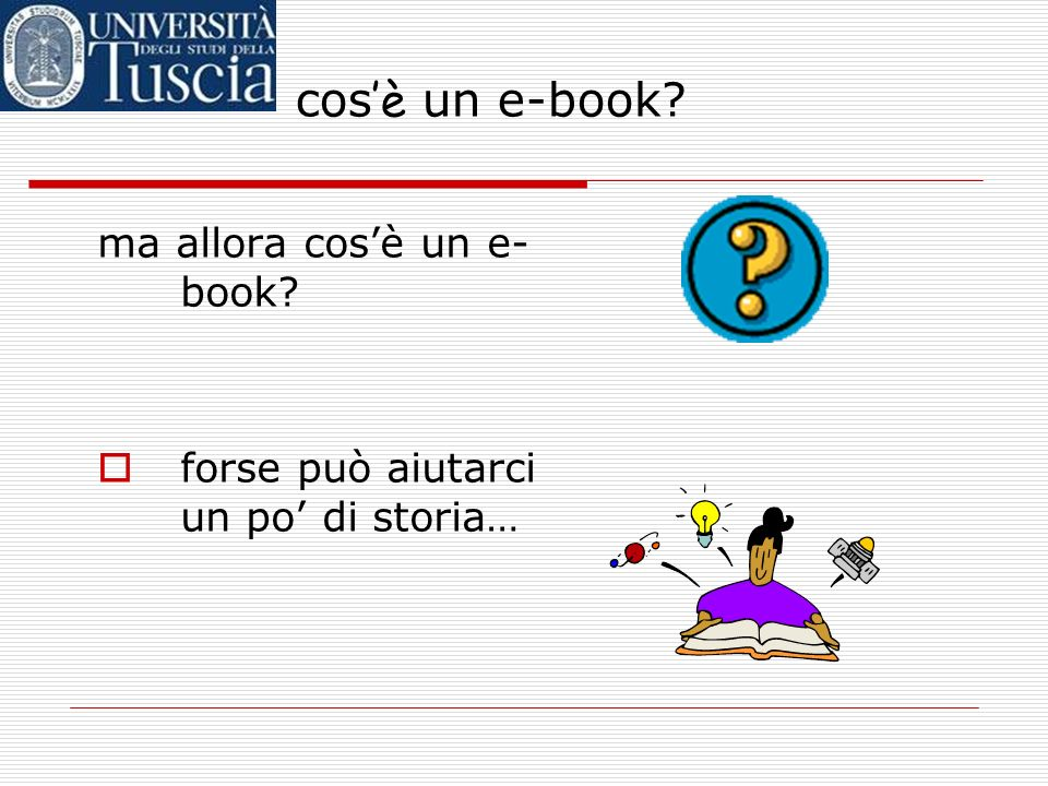 cos'è un e-book ma allora cos'è un e-book