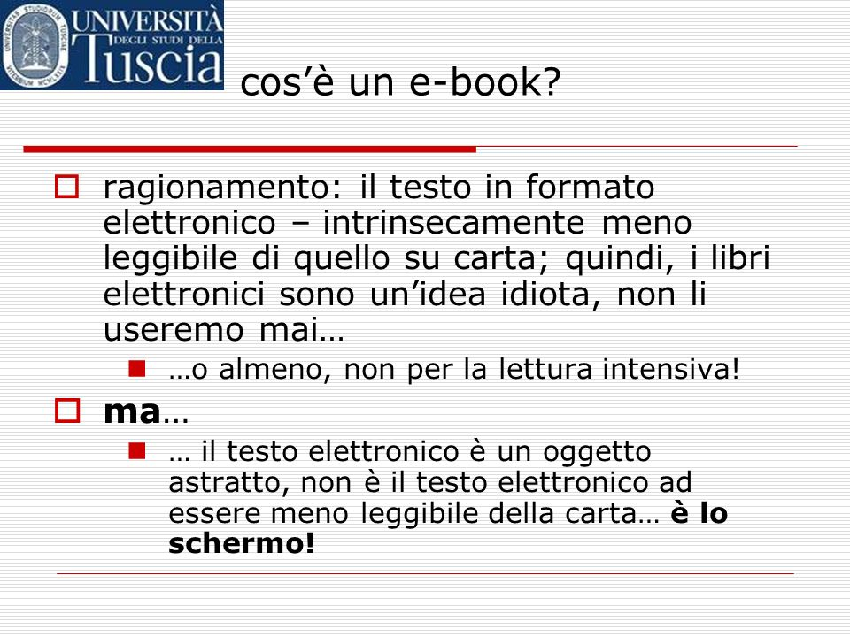 cos'è un e-book