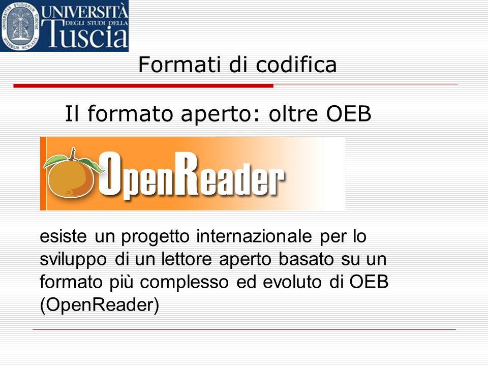 Il formato aperto: oltre OEB
