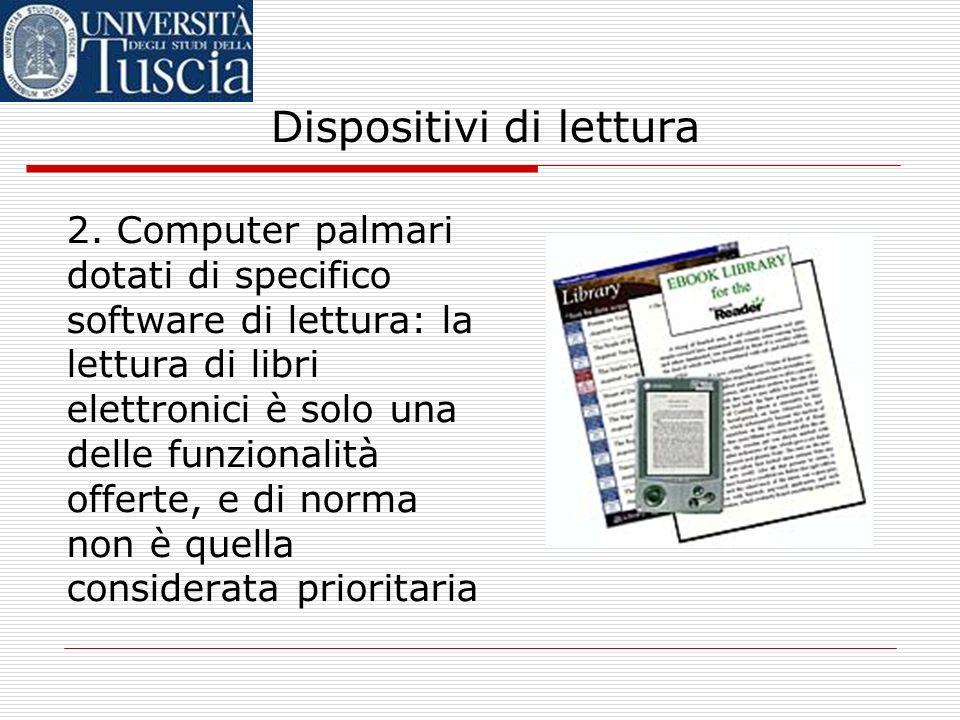 Dispositivi di lettura