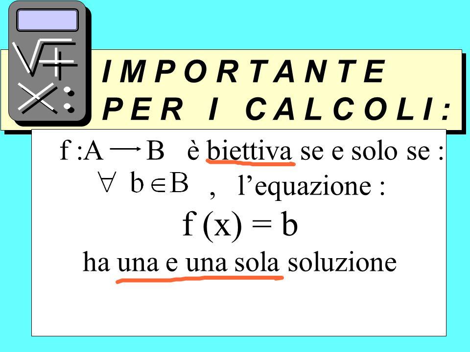 f (x) = b P E R I C A L C O L I : I M P O R T A N T E