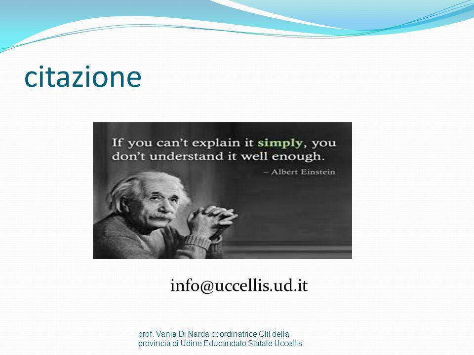 citazione info@uccellis.ud.it