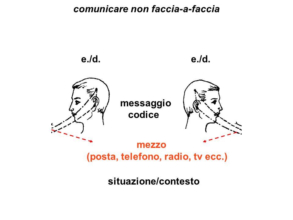 comunicare non faccia-a-faccia