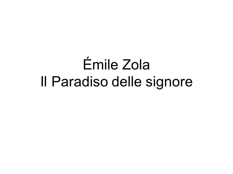 Émile Zola Il Paradiso delle signore