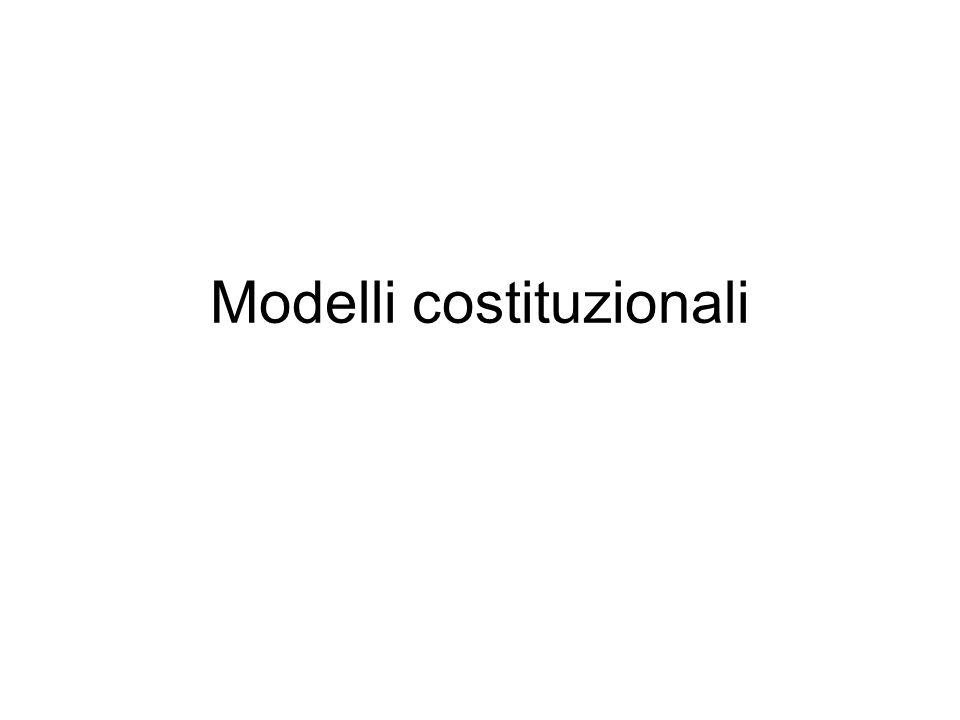 Modelli costituzionali