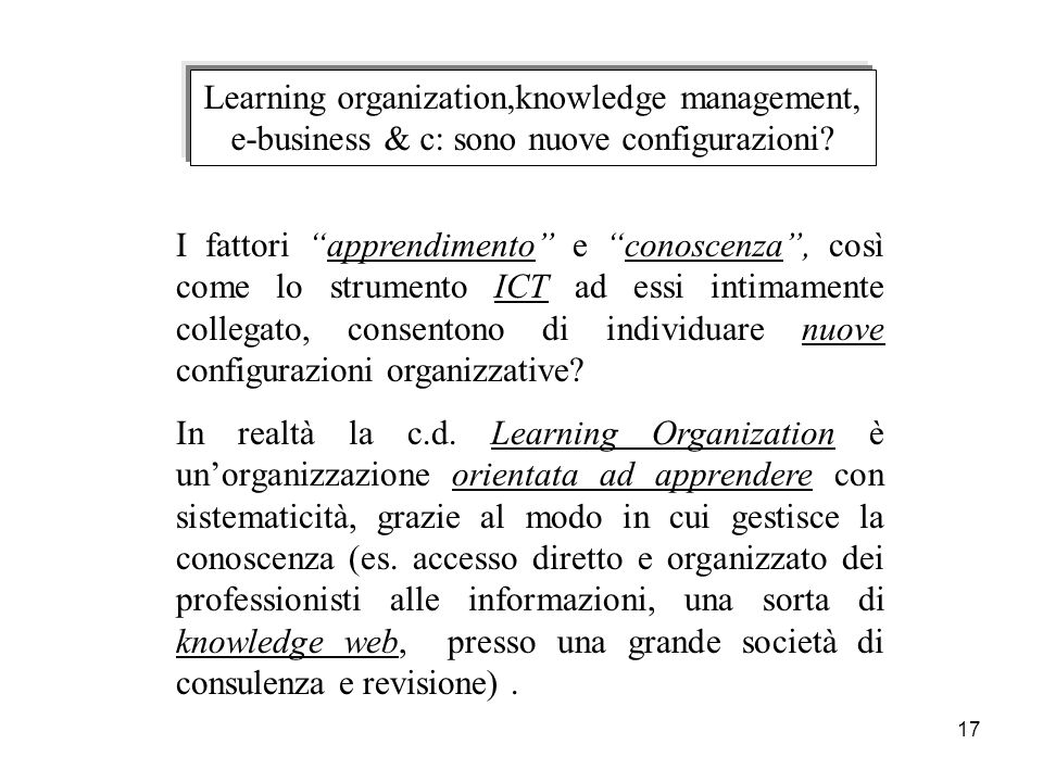 Learning organization,knowledge management,