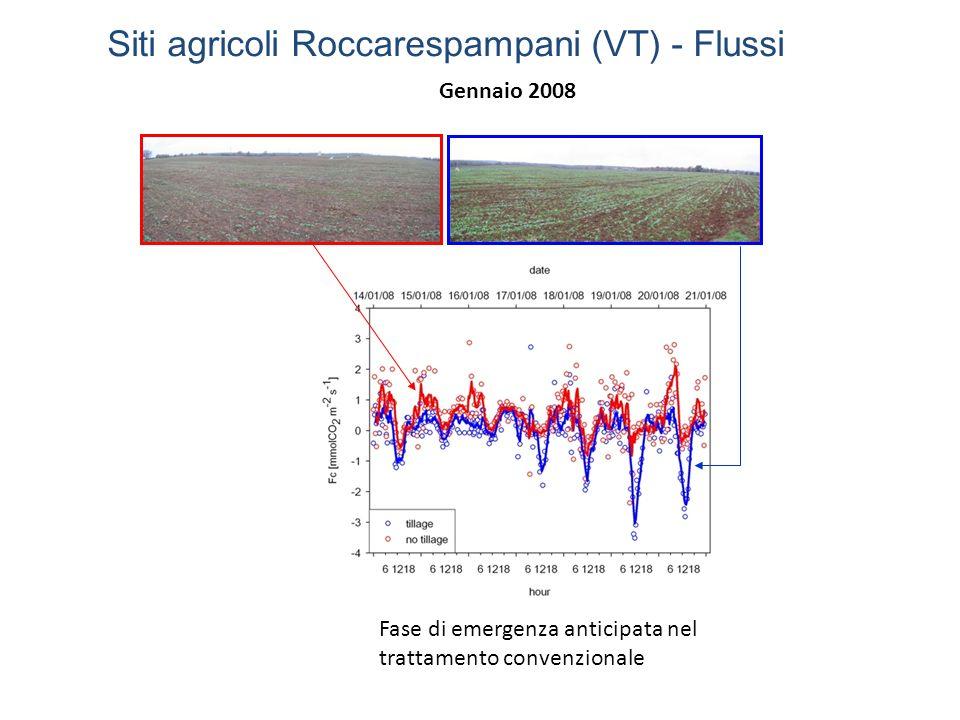 Siti agricoli Roccarespampani (VT) - Flussi