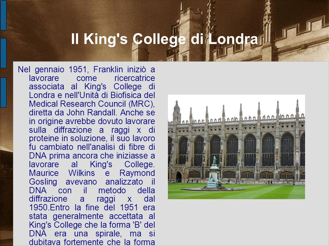 Il King s College di Londra