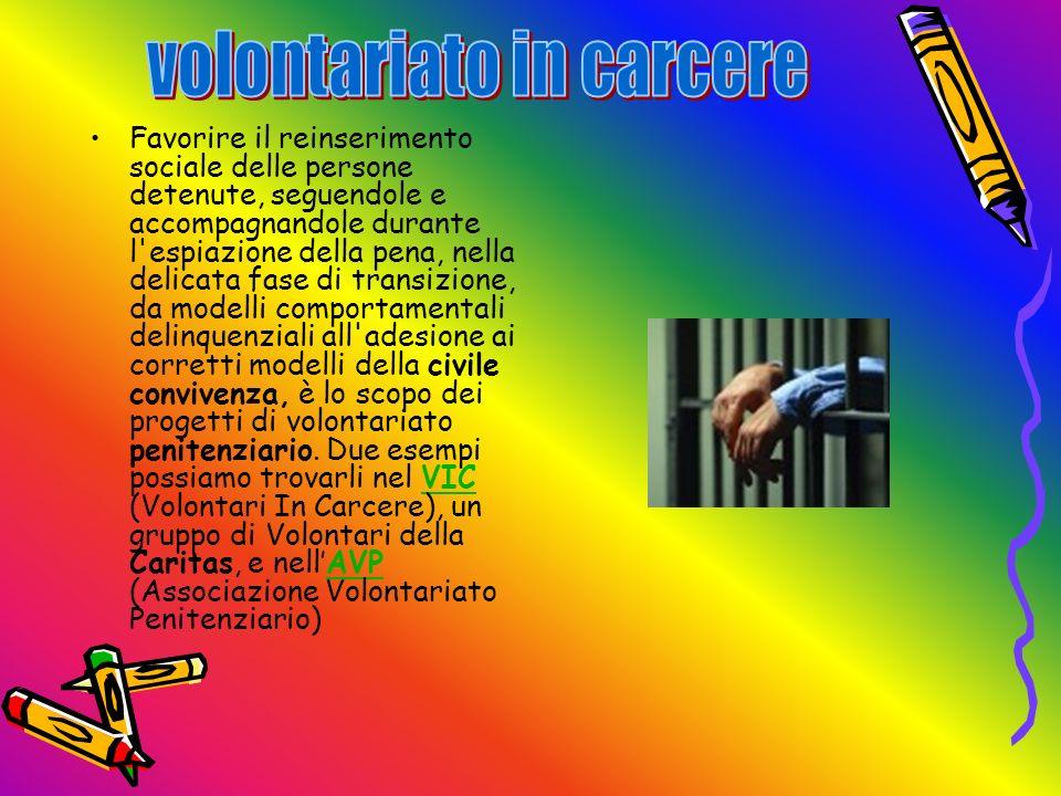 volontariato in carcere