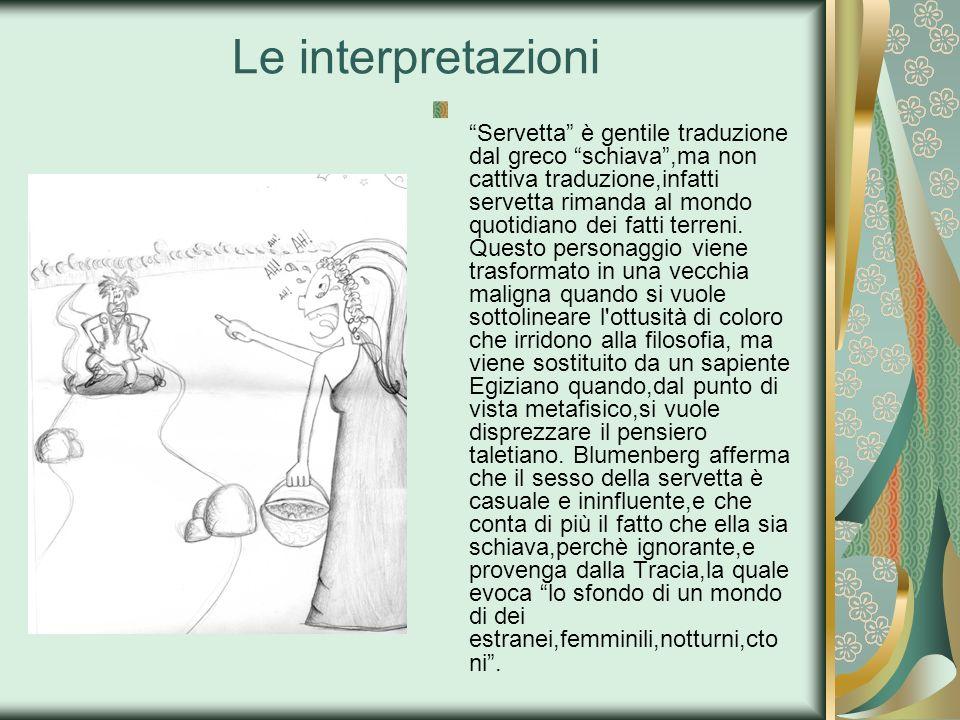 Le interpretazioni