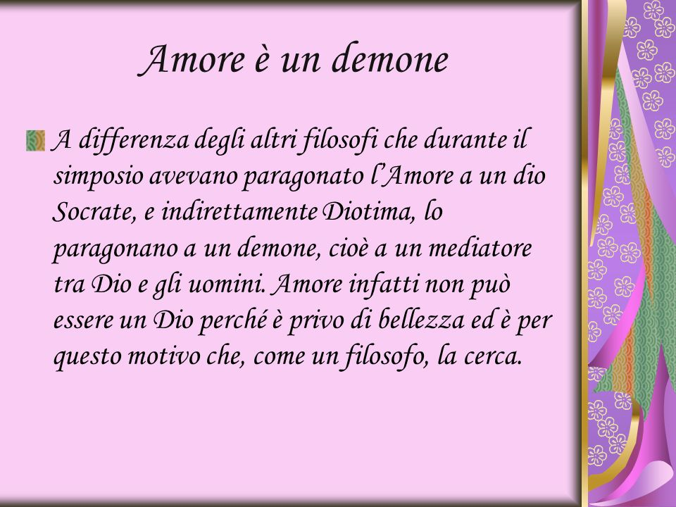 Amore è un demone