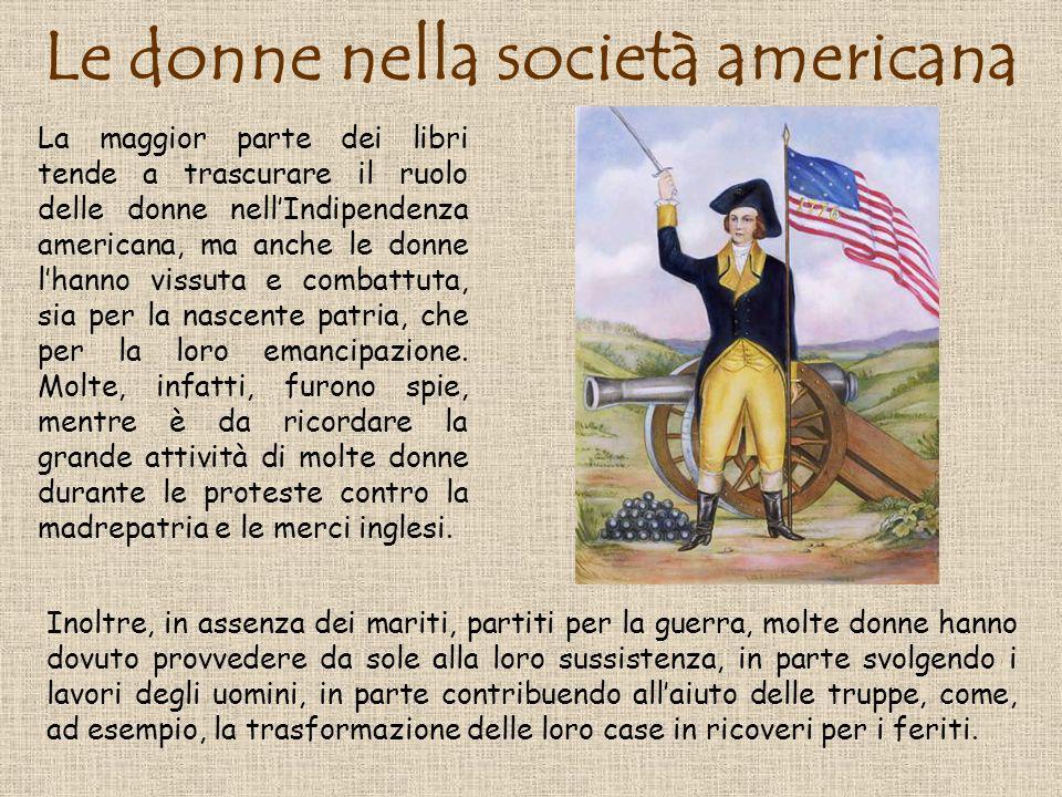 Le donne nella società americana