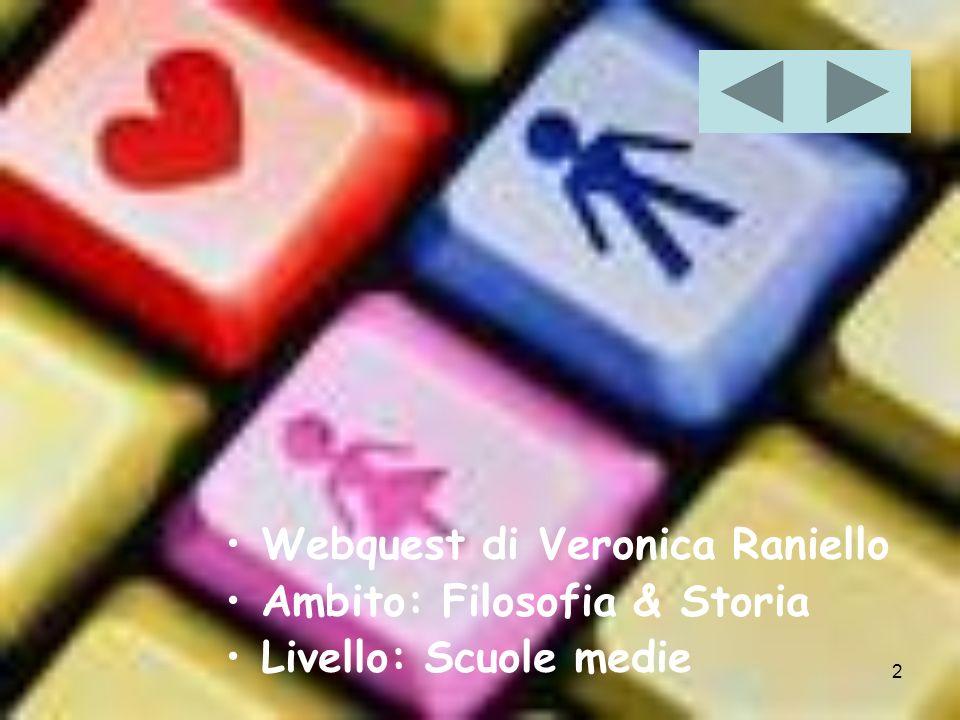 Webquest di Veronica Raniello