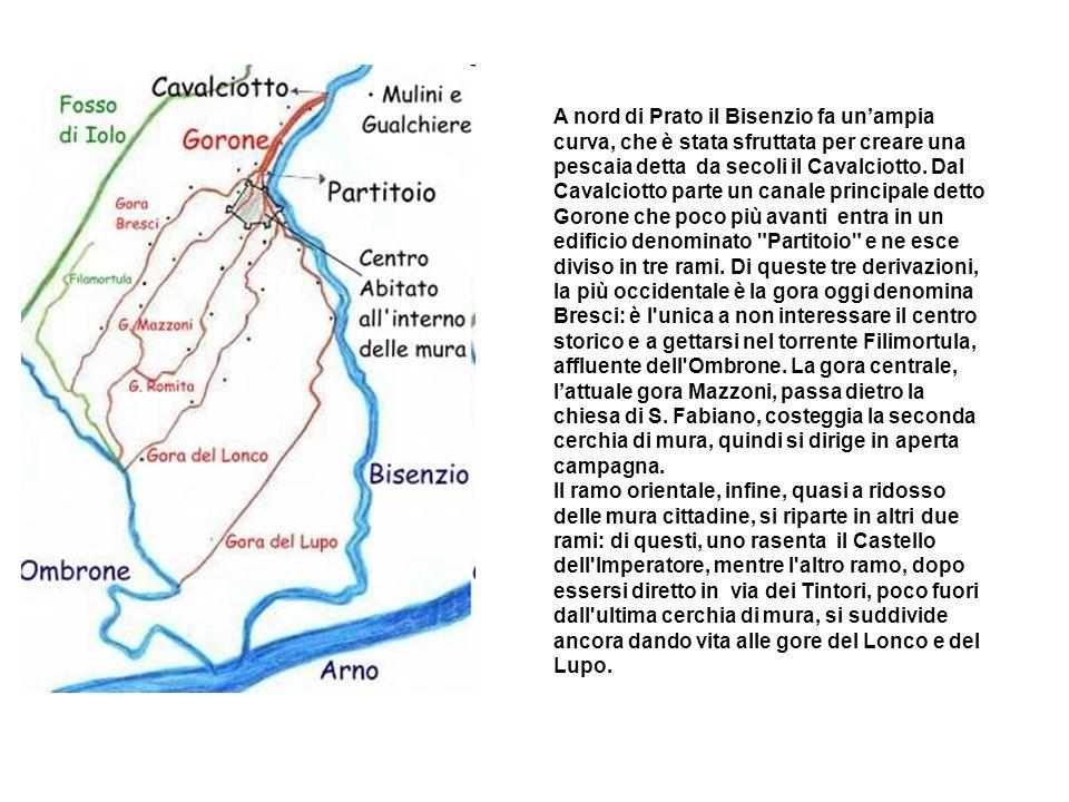 A nord di Prato il Bisenzio fa un'ampia curva, che è stata sfruttata per creare una pescaia detta da secoli il Cavalciotto.