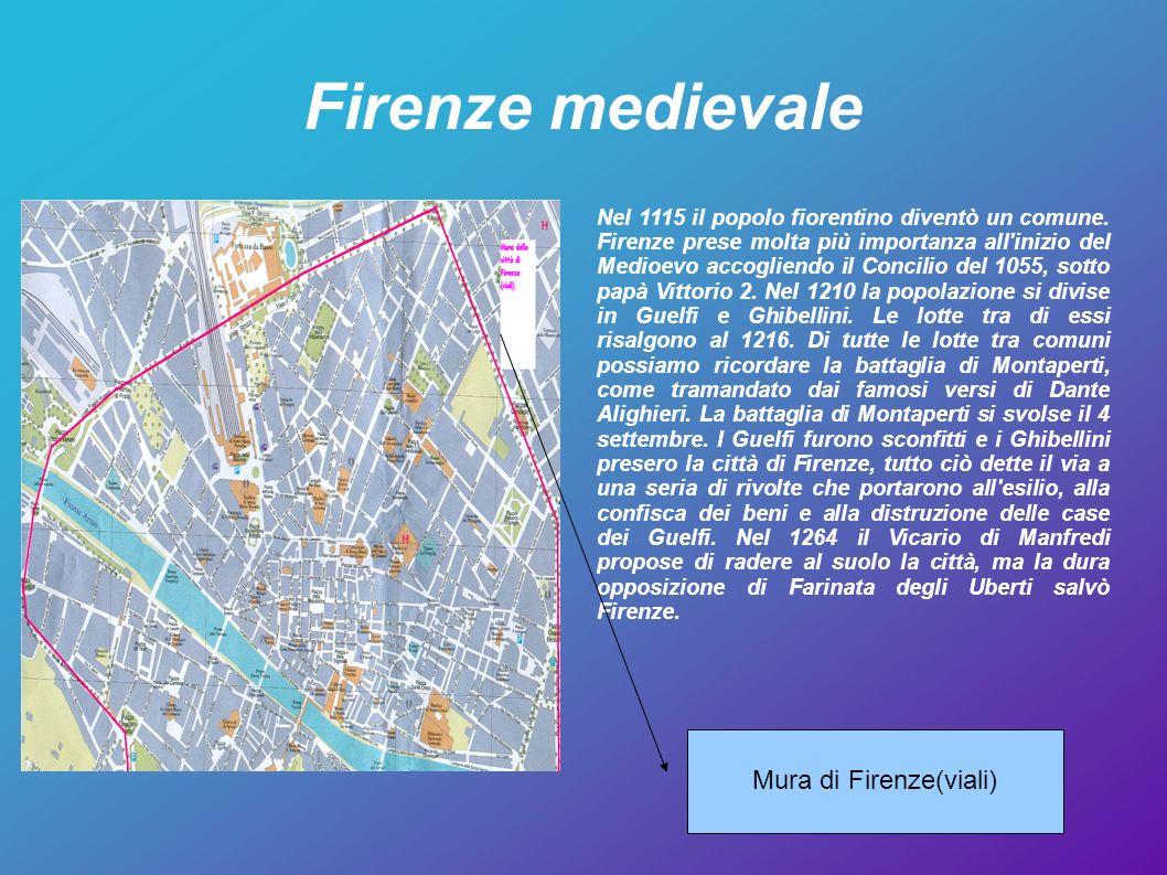 Firenze medievale Mura di Firenze(viali)