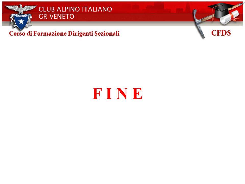 Club Alpino Italiano CAI- Bilancio d esercizio 2003 F I N E 46