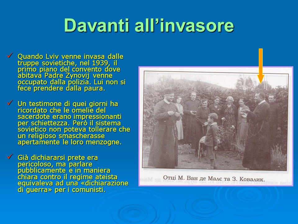 Davanti all'invasore
