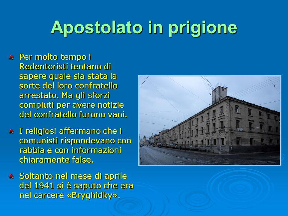 Apostolato in prigione