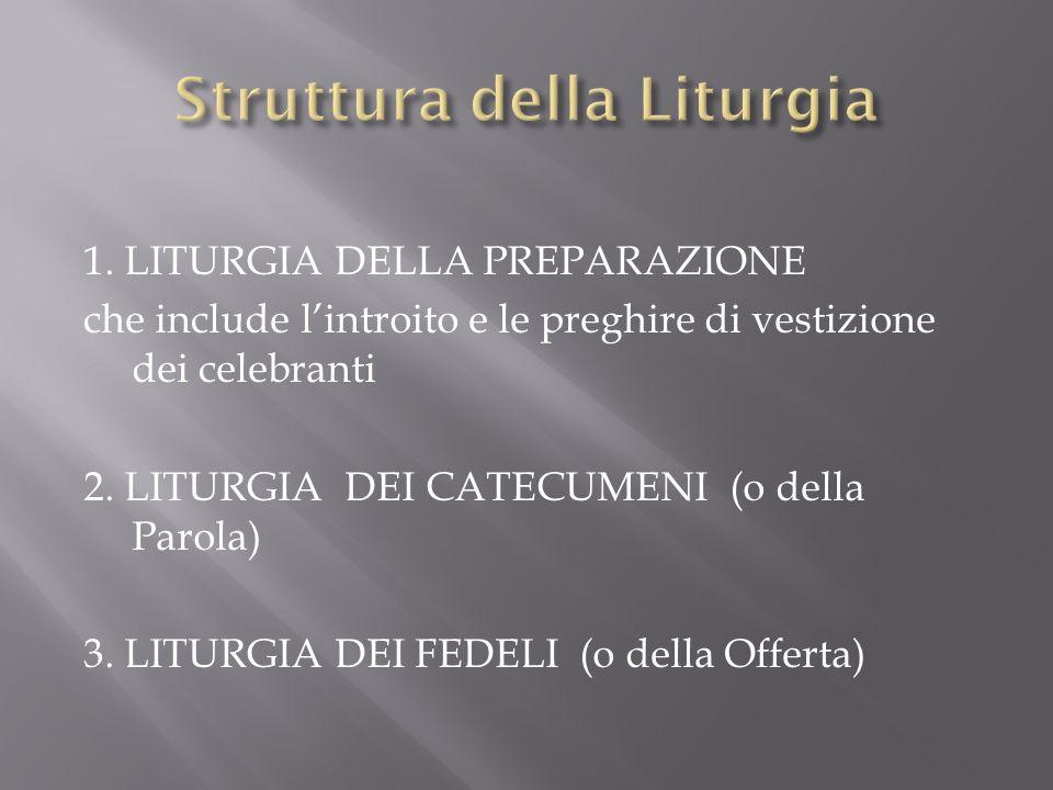 Struttura della Liturgia