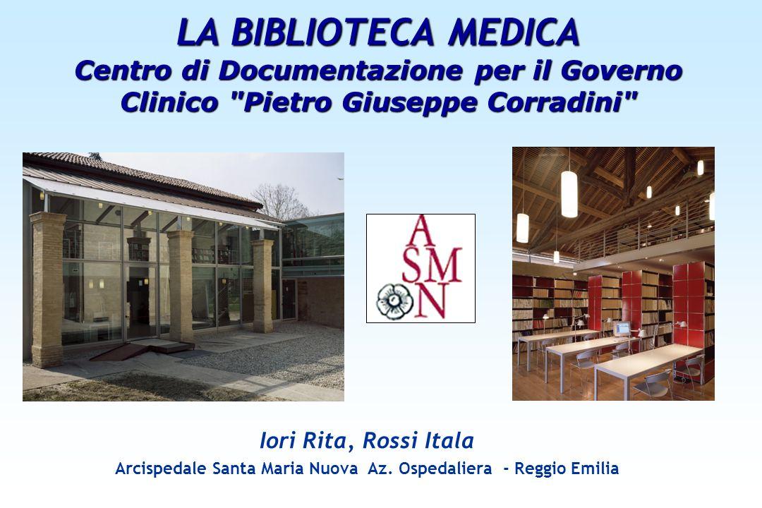 Arcispedale Santa Maria Nuova Az. Ospedaliera - Reggio Emilia
