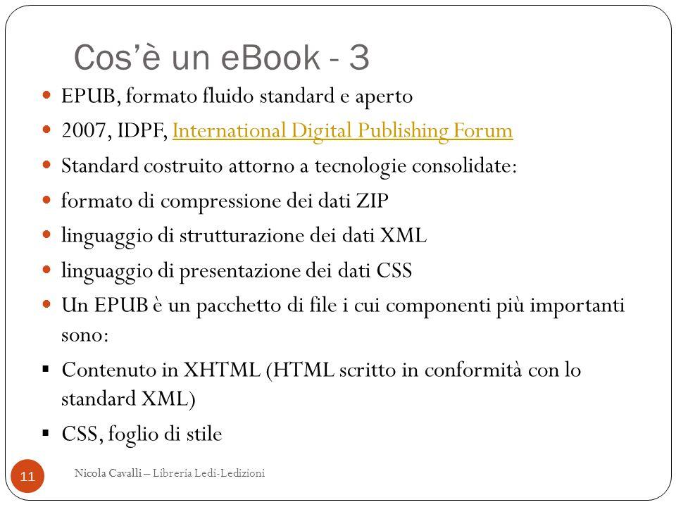 Cos'è un eBook - 3 EPUB, formato fluido standard e aperto