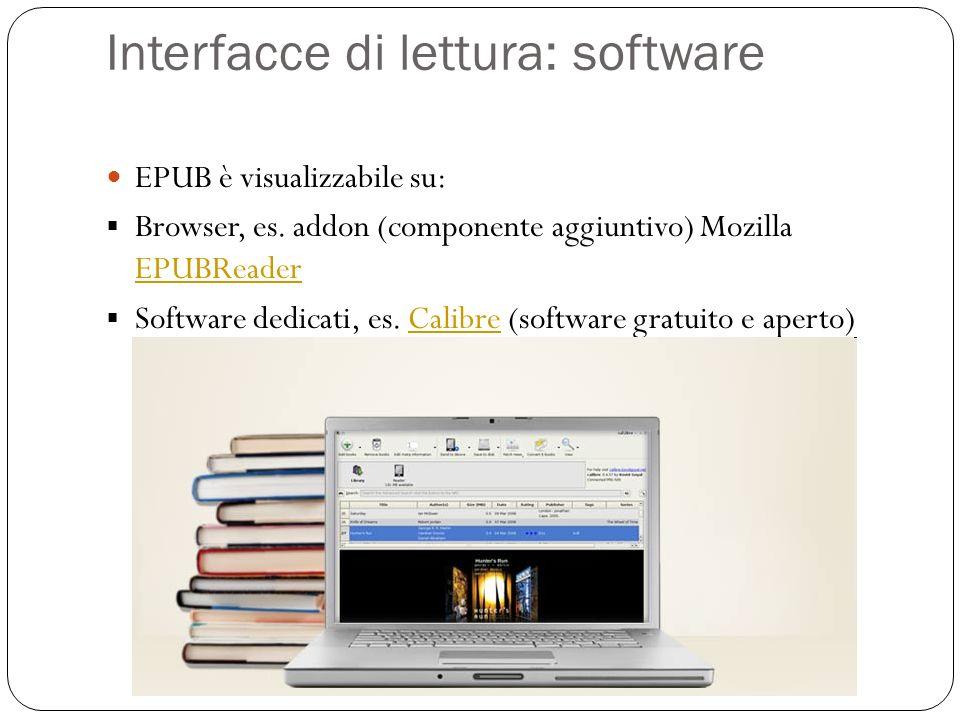 Interfacce di lettura: software