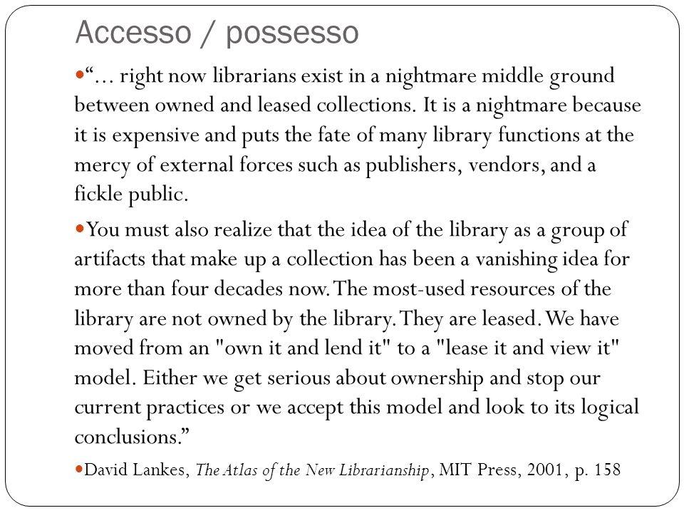 Accesso / possesso