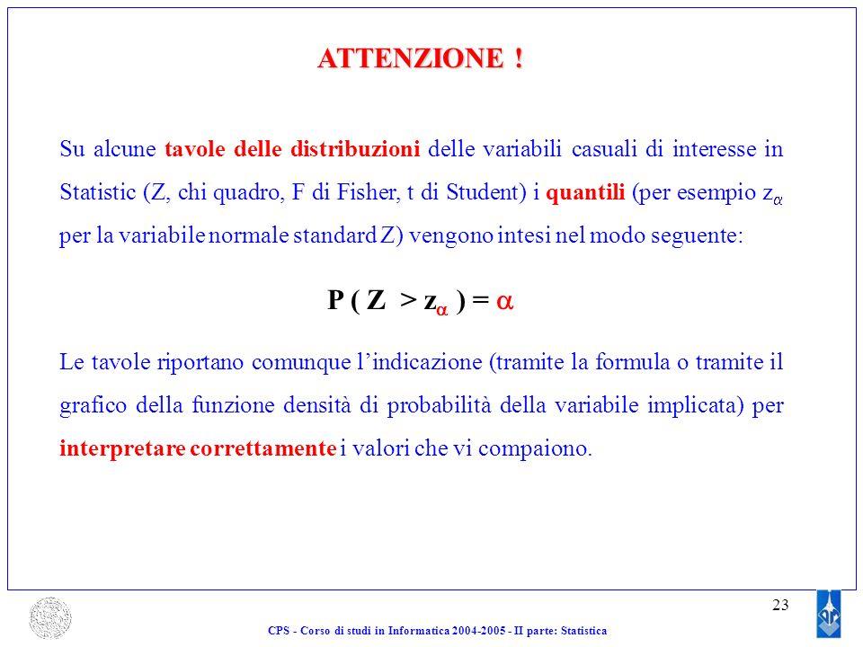Corso di calcolo delle probabilit e statistica ii parte statistica ppt scaricare - Tavole di distribuzione normale ...