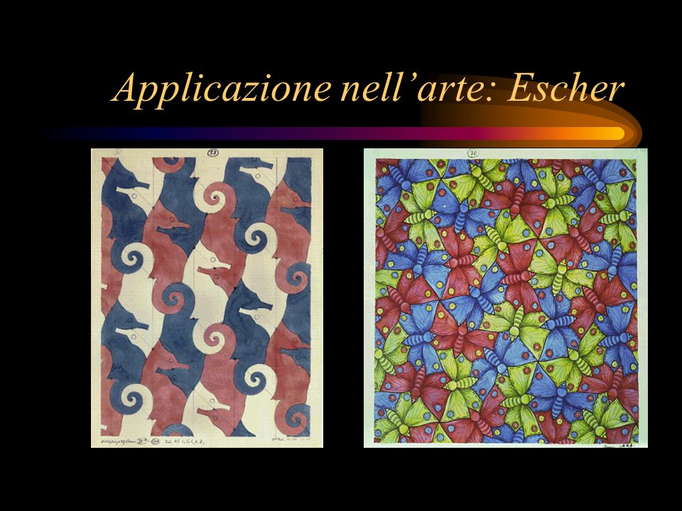 Applicazione nell'arte: Escher