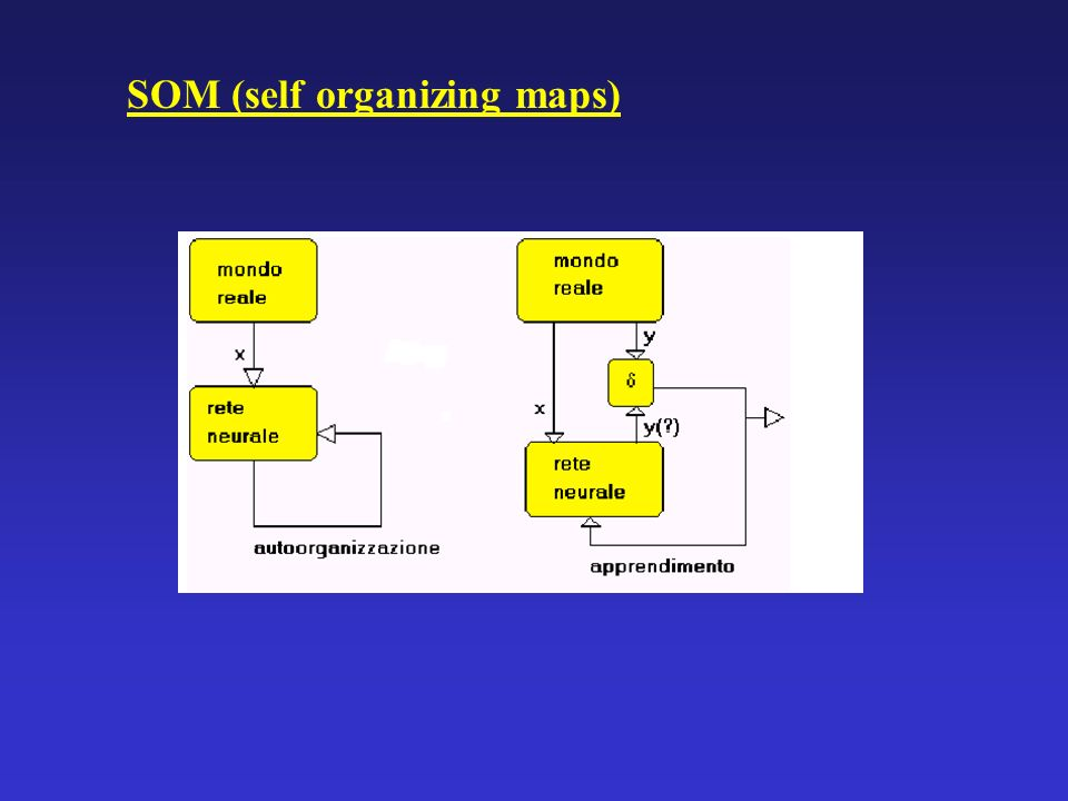 SOM (self organizing maps)