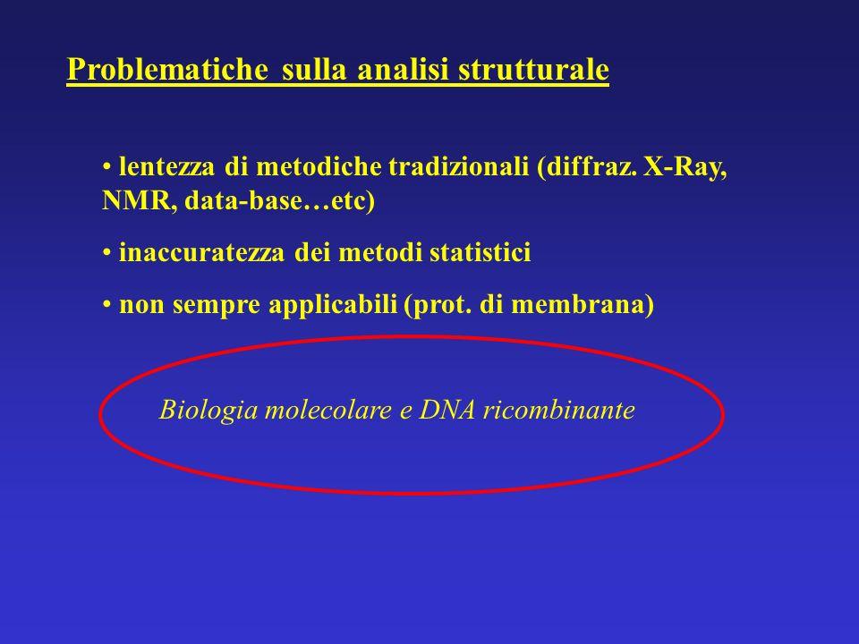 Problematiche sulla analisi strutturale
