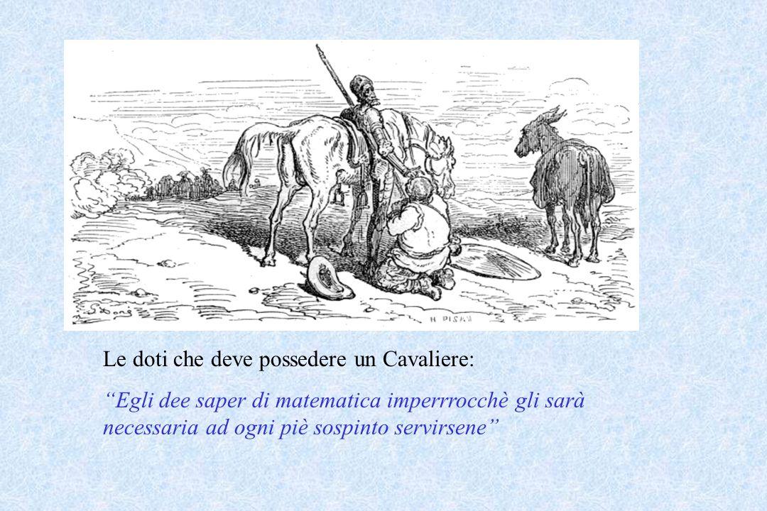 Le doti che deve possedere un Cavaliere: