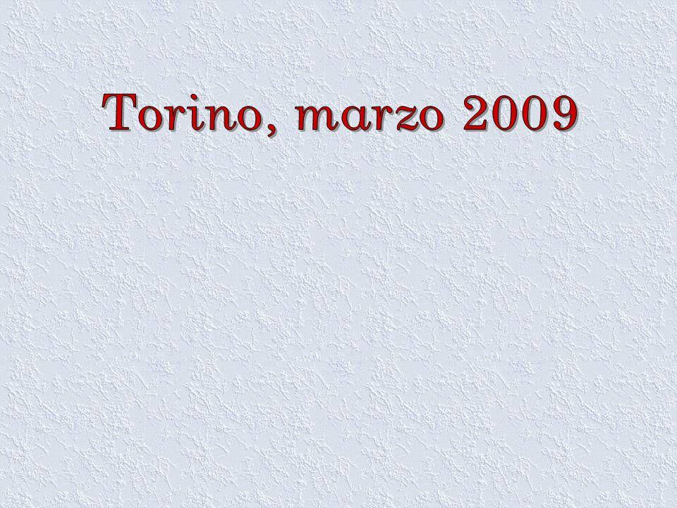 Torino, marzo 2009