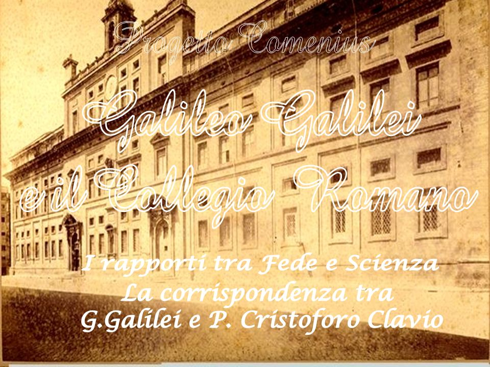 Galileo Galilei e il Collegio Romano