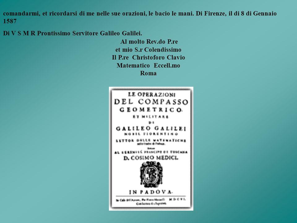 Il P.re Christoforo Clavio