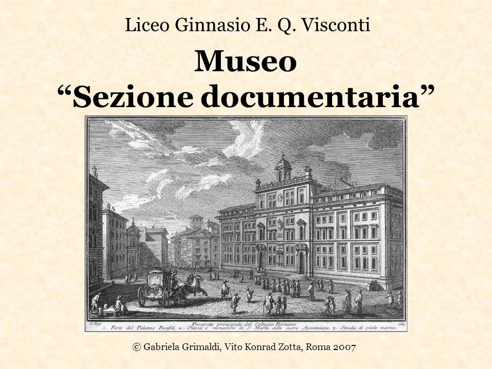 Museo Sezione documentaria