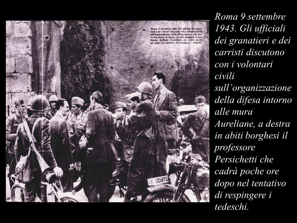 Roma 9 settembre 1943.