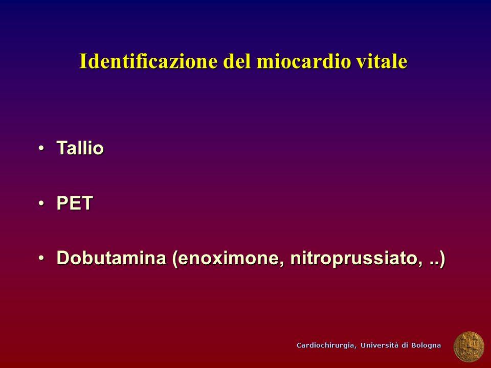Identificazione del miocardio vitale