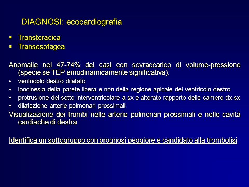 DIAGNOSI: ecocardiografia