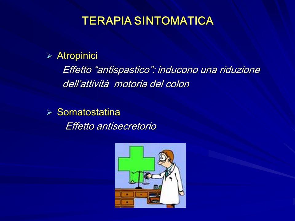 TERAPIA SINTOMATICA Atropinici