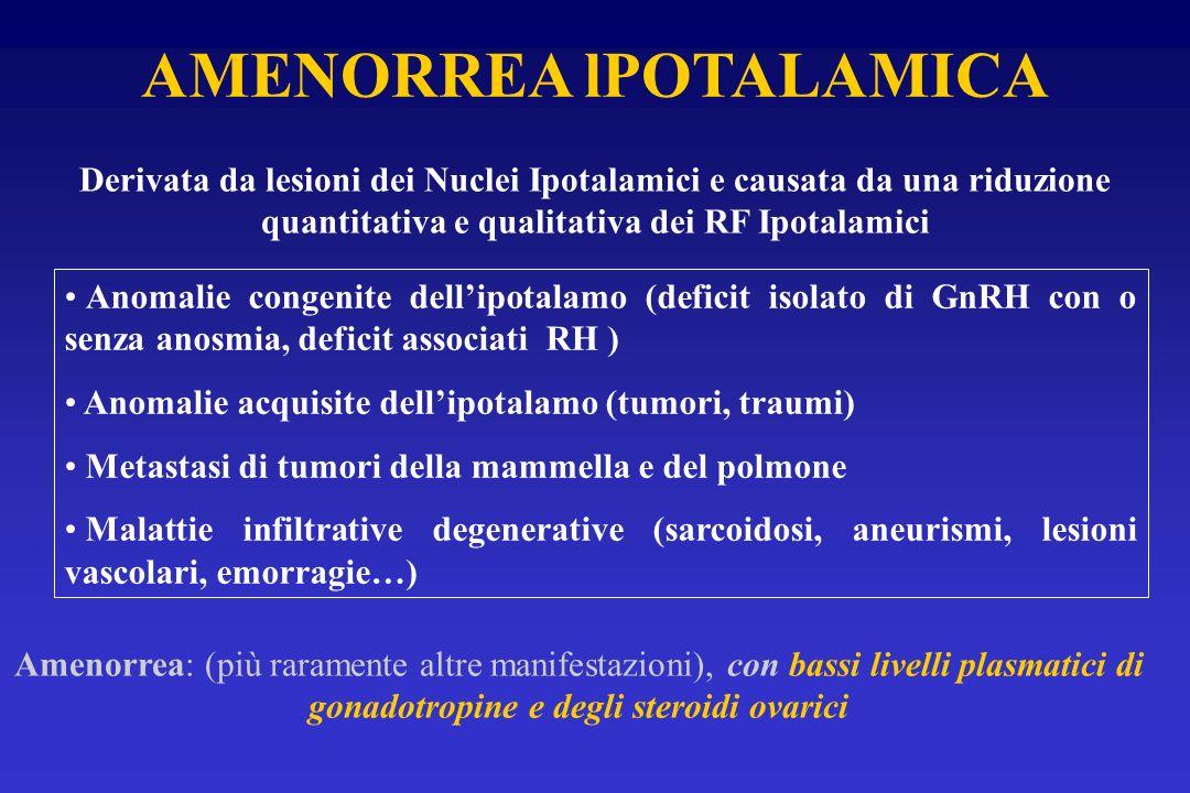 AMENORREA lPOTALAMICA