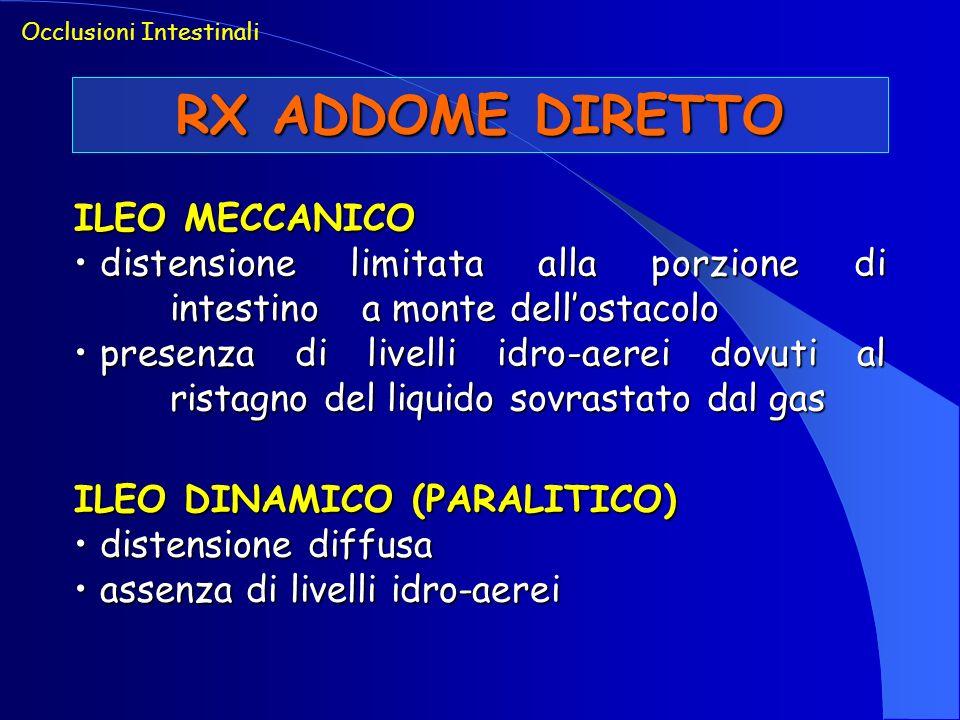 RX ADDOME DIRETTO ILEO MECCANICO
