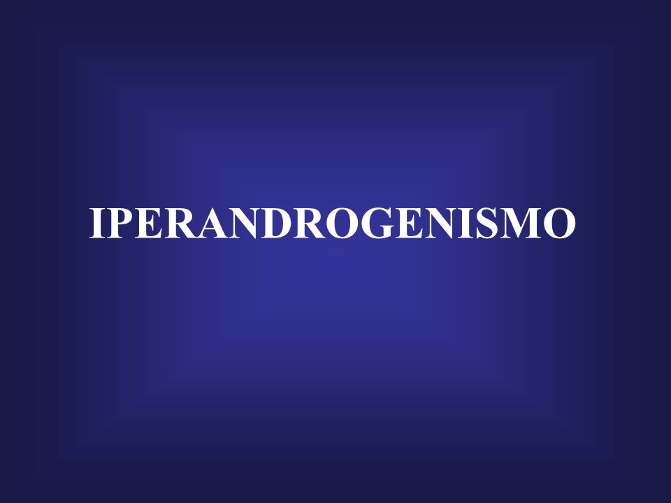 IPERANDROGENISMO